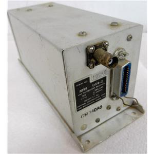 NARCO UGR-2 UHF GLIDESLOPE RECEIVER, NATIONAL AERONAUTICAL CORP