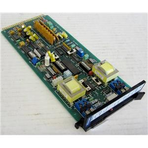 WESCOM 3654-01 ISS 5 4W UNI CARD MODULE UNIT FOR TELECOM TELEPHONE SYSTEMS