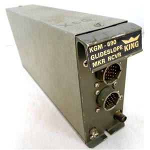 KING RADIO CORP 066-1006-00 KGM690 GLIDESLOPE MARKER RECEIVER