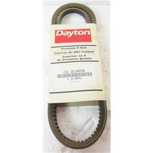 """DAYTON 2L389G 3VX500 PREMIUM V-BELT, 5L, 50"""" OUTSIDE LENGTH - NEW"""