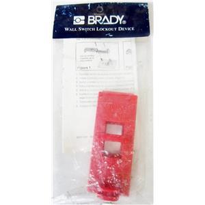 BRADY 65392 WALL SWITCH LOCKOUT, RED - NEW