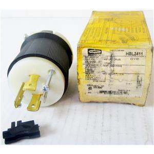 HUBBELL HBL2411 AC ELECTRIC POWER PLUG, NEMA L14-20P L14-20, MALE - NEW
