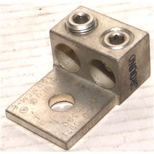 ILSCO AU-350 ALUMINUM LUG, MECHANICAL, D97 AL9CU 350 MCM-6 NEW
