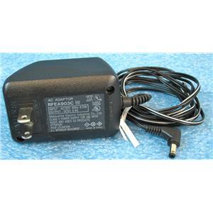 MATSUSHITA ELECTRIC RFEA903C AC ADAPTER POWER SUPPLY, 9VDC 0.4A 400mA OUTPUT