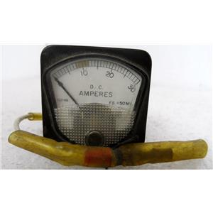 AIR WEST 93061 AMP GAUGE (GUAGE, GAGE) METER, AIRCRAFT PART