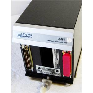 FOSTER AIRDATA SYSTEMS D1681 805D0570-01 DATABASE/INTERFACE UNIT