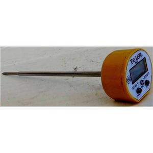 TAYLOR 9842 DIGITAL THERMOMETER, MISSING BATTERY AND COVER