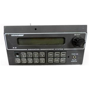 ARNAV SYSTEMS 453-0103 MODEL R-21 LORAN RECEIVER