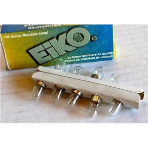 EIKO E-313 MINIATURE LIGHT BULBS NEW QTY 9