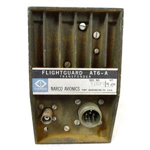 NARCO AVIONICS AT6-A FLIGHGUARD TRANSPONDER, CNR169A1
