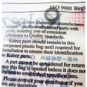 KALREZ 1201833 END CAP ISC GLASS NEB O-RING FOR INERT SPRAY CHAMBER - NEW