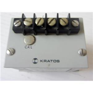 KRATOS 20.550 AC CURRENT TRANSDUCER, 0-5 AMPS, 0-1mA INTO 10K OUTPUT