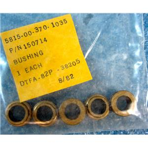 *5PC/PACK* TELEMECHANICS 150714 BUSHING, 5815-00-370-1035, DTFA-82P - NEW