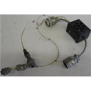 M-4 NOSE WHEEL SERVO ADAPTER & BENDIX - CANNON CONNECTORS / PLUGS