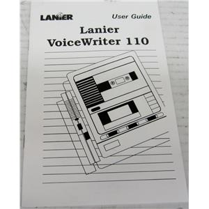 LANIER R-750-418A USER'S GUIDE MANUAL FOR VOICEWRITER 110