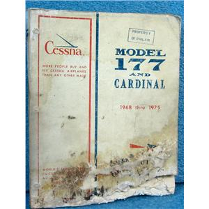 CESSNA MODEL 177 AND CARDINAL PARTS CATALOG, 1968 THRU 1975
