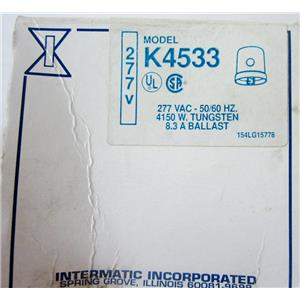 INTERMATIC K4533 277V PHOTOCONTROL PHTOCELL, PHOTO CONTROLL CELL - NEW SURPLUS