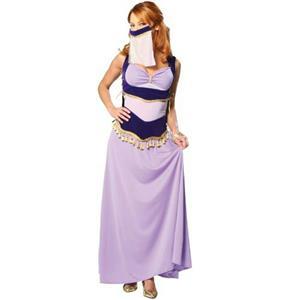 Cinema Secrets Sexy Jasmine Purple Harem Dancer Adult Costume Size XS 2-4