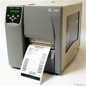Zebra S4M S4M00-2001-0200D Direct Thermal Barcode Label Printer Network USB