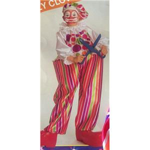 Rubie's Snazzy Hoop Clown Child Costume Size Small 4-6