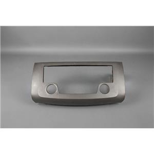 2013-2014 Nissan Sentra Radio Dash Trim Bezel has Openings for Radio Controls