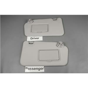 2011 2012 2013 Nissan Juke Sun Visor Set with Covered Mirrors