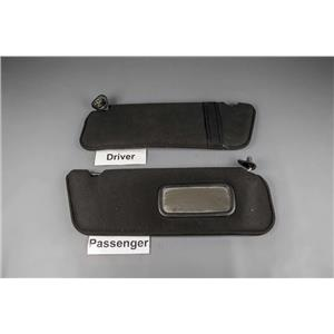 2005 Ford Ranger Sun Visor Set with Passenger Mirror