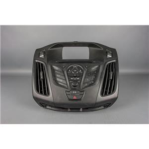 2012-2014 Ford Focus Radio Dash Trim Bezel with Hazard Switch and Vents