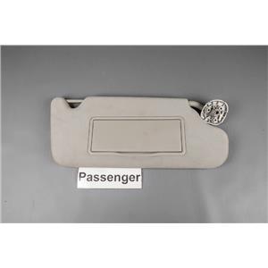 2006-13 Chevrolet Impala Passenger Sun Visor Covered Mirror Adjust Arm Bar