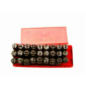 "1/4""  6MM Letter Punch Stamp Set  Metal-Steel-Hand A-Z -Part Codes-Names"