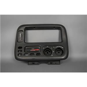 2000 Dodge Grand Caravan Radio Climate Dash Trim Bezel for Vehicles w/ Rear Heat