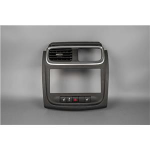2012 Dodge Avenger Radio Climate Dash Trim Bezel with Heated Seats