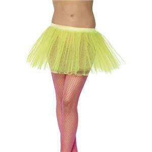 Smiffy's Women's Neon Yellow Tutu Underskirt