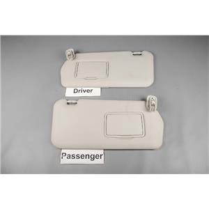 2006 2007 2008 2009 2010 2011 2012 Mazda 5 Sun Visor Set Covered Mirrors