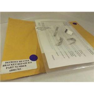 MAYTAG WHIRLPOOL REFRIGERATOR 68001703 DEFROST HEATER BRACKET KIT NEW