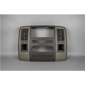 2010-2012 Dodge Ram 1500 2500 Radio Climate Dash Trim Bezel with Vents Storage