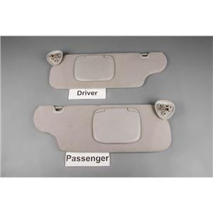 2002 Ford Taurus Sun Visor Set with Covered Mirrors