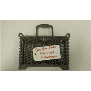 MAYTAG DISHWASHER W10199701 SILVERWARE BASKET USED