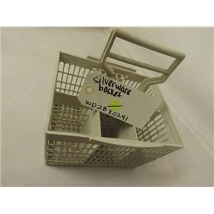 GENERAL ELECTRIC DISHWASHER WD28X0241 SILVERWARE BASKET USED