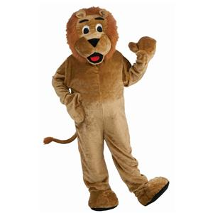 Forum Deluxe Plush Lion Mascot Costume