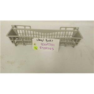 KENMORE WHIRLPOOL DISHWASHER 8269701 8539145 UTENSIL BASKET USED