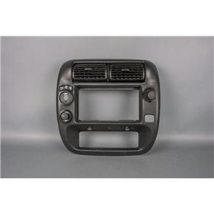 2001 Ford Ranger Radio Climate Dash Trim Bezel with Vents for 4WD Truck