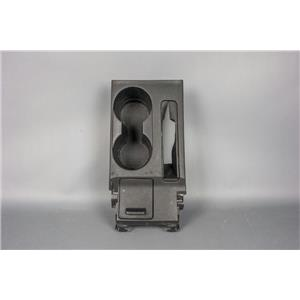 2005-2010 Scion tC Cup Holder Compartment Covered Storage in Black