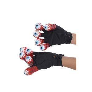 Rubie's Costume Beetlejuice Adult Gloves with Eyeballs Fingers