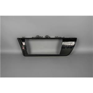 14-16 Toyota Corolla Dash Center Radio Bezel Hazard Passenger and Indicator