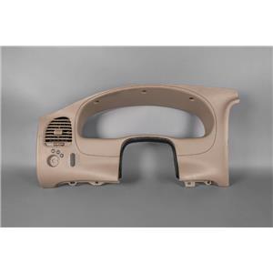 95-06 Ford Ranger Speedometer Cluster Dash Bezel with Vent Steering Column Boot