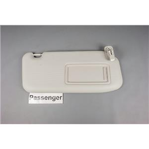 2013-2015 Mazda CX5 Sun Visor Passenger Side with Lighted Mirror Extension Panel