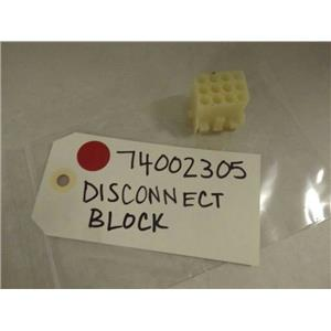 MAYTAG WHIRLPOOL STOVE 74002305 DISCONNECT BLOCK NEW