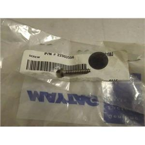 MAYTAG WHIRLPOOL WASHER 22003556 SCREW NEW
