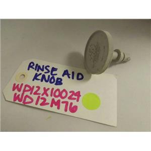 GENERAL ELECTRIC DISHWASHER WD12X10024 WD12M76 RINSE AID KNOB USED